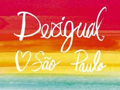 Anúncio de inauguração da Desigual no Brasil Foto: Reprodução