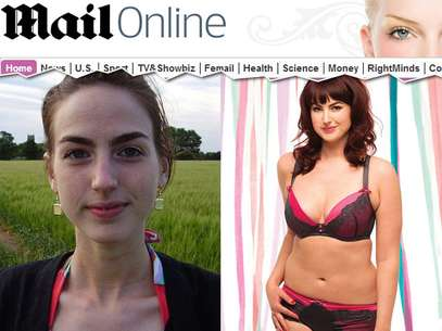 Antes e depois Foto: Reprodução