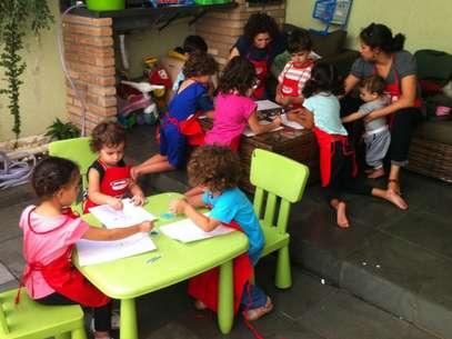 Pais que potam pelo homeschooling desejam estar mais envolvidos e presentes na criação dos filhos Foto: Mariana Della Barba / BBCBrasil.com