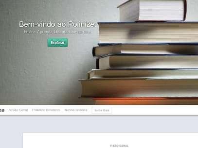A rede social está disponível desde outubro e conta com 5 mil usuários Foto: Reprodução