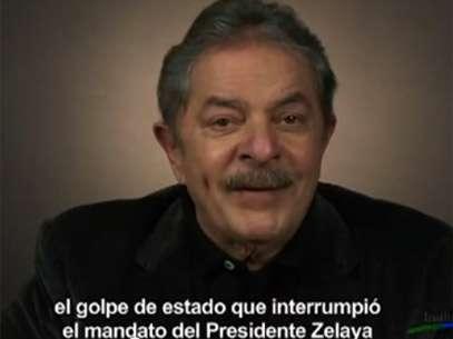 """Lula menciona """"golpe de Estado que interrompeu mandato do presidente Zelaya"""" Foto: Youtube / Reprodução"""