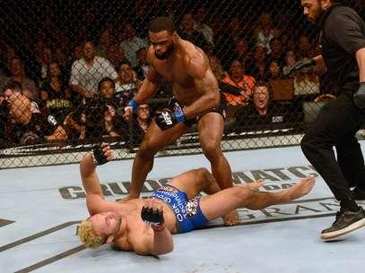 Tyron Woodley derrota Josh Koscheck por nocaute Foto: Getty Images