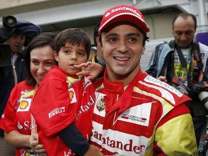 Massa não teve um bom ano na despedida da Ferrari Foto: EFE