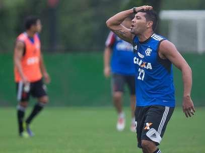 André Santos é o pivô da polêmica que envolve o Flamengo e a Justiça Foto: Mauro Pimentel / Terra