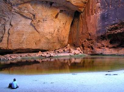 A região de Kimberley, no noroeste da Austrália, é conhecida por ser inóspita e ter águas infestadas de crocodilos Foto: David Busch/Flickr