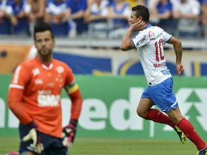 Bahia se garantiu matematicamente na Série A do Brasileiro para a próxima temporada Foto: Pedro Vilela / Agência I7 / Gazeta Press