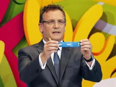 Fifa, do secretário-geral Jérôme Valcke, quer combater revenda ilegal de ingressos da Copa Foto: Ricardo Moraes / Reuters