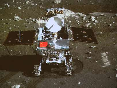 """Imagem mostra a sonda """"coelho de Jade"""" Foto: AP"""