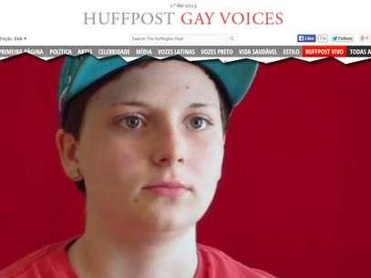 Destin Holmes sofre bullying desde que ingressou na escola Magnolia Junior High Foto: The Huffington Post / Reprodução