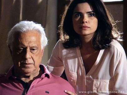 Césa vai começar a desconfiar de Aline Foto: TV Globo / Divulgação