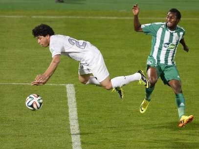Deo Kanda jogou pelo Mazembe o Mundial de Clubes em 2010 Foto: AFP