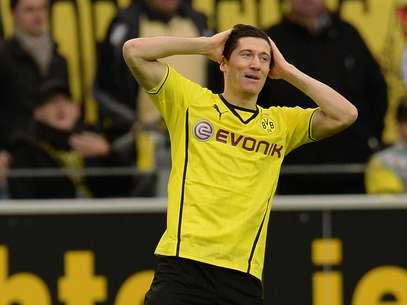Borussia foi derrotado neste sábado Foto: AFP