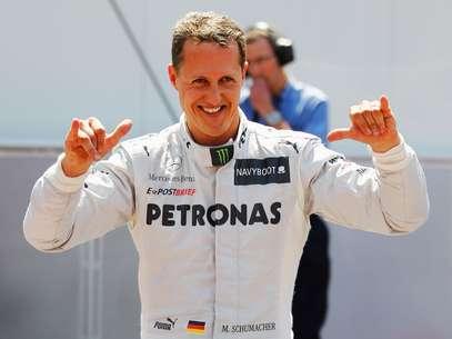 """Segundo rádio, Schumacher sofreu """"sério"""" ferimento na cabeça Foto: Getty Images"""