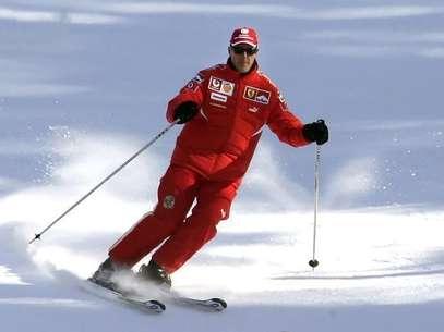 Schumacher luta pela vida em um hospital da França Foto: Pool / Reuters