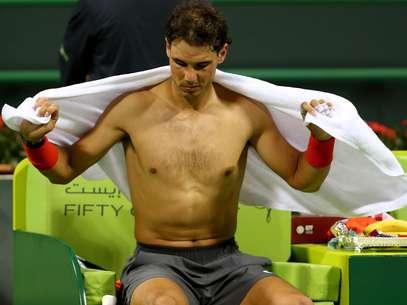 Nadal tinha perdido para Rosol em Wimbledon Foto: AFP