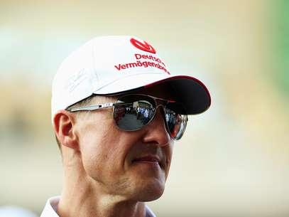 Ex-piloto alemão Michael Schumacher ainda não reage a estímulos dos médicos, de acordo com o jornal alemão Bild Foto: Getty Images