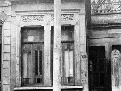 Casa onde ocorreu o Crime do Poço, em 1948 Foto: Reprodução