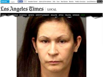 A ex-professora Andrea Michelle Cardosa, 40 anos, foi presa e acusada de casos de abuso sexual no condado de Riverside, na Califórnia, Estados Unidos Foto: Reprodução
