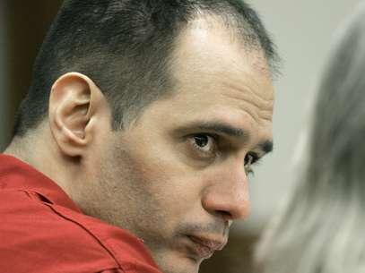 Juan Carlos Chávez, preso pela morte de Jimmy Ryce,em sua primeira audiência no tribunal do condado de Miami-Dade, em janeiro de 2007 Foto: AP