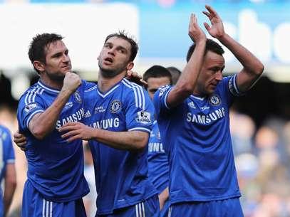 Chelsea manteve liderança do Inglês com vitória neste sábado Foto: Getty Images