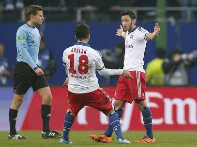 Hamburgo deu fim à sequência ruim no Alemão Foto: AP