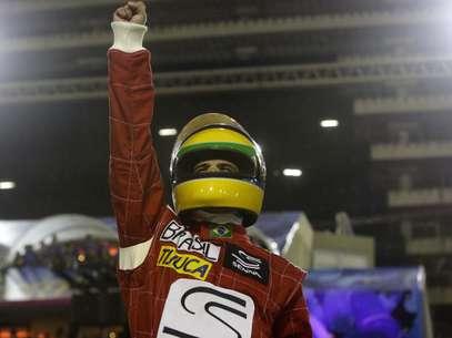Tributo a Ayrton Senna na Sapucaí dá título à Unidos da Tijuca Foto: Gabriela Biló / Futura Press