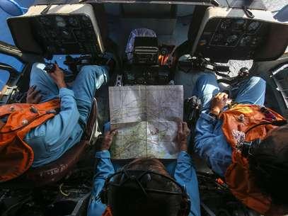 Militares da Malásia acreditam terem rastreado o avião da Malaysia Airlines no Estreito de Malaca, o que indicaria que o mesmo teria mudado sua rota após sumir dos radares Foto: Reuters