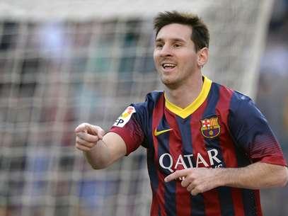 Messi poderia receber salário anual de 25 milhões de euros (quase R$ 82 mi) Foto: AFP