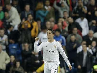 Cristiano Ronaldo é o artilheiro da Liga dos Campeões Foto: AP