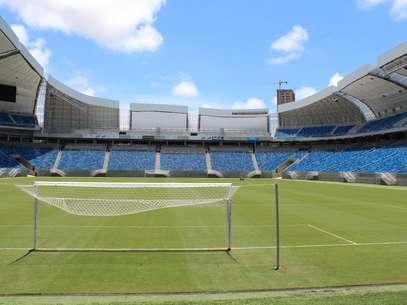 Estádio vem sendo testado com frequência na Copa Nordeste e Campeonato Potiguar Foto: Rodrigo Trindade / Terra