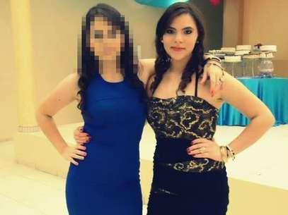 Erandy Gutierrez, à esquerda e a amiga Anel Báez, à direita Foto: Facebook