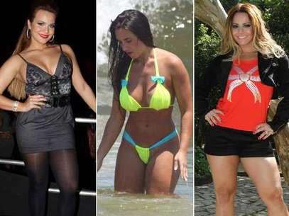 O levantamento, que entrevistou 15 mil mulheres, mostrou que mais da metade das brasileiras preferem um corpo com curvas Foto: Agnews