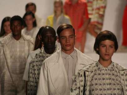 A tradicional camisa pólo ganhou reforço de peças com modelos inusitados Foto: Andrea DAndrea/Terra