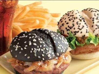 Os novos hambúrgueres do McDonald´s foram considerados uma espécie de símbolo do Yin-Yang Foto: Divulgação