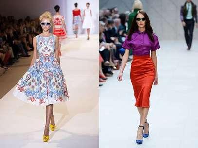 A semana de moda de Londres apresentou um verdadeiro patchwork de tendências Foto: Getty Images