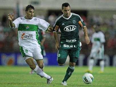 Daniel Carvalho não empolgou com a camisa do Palmeiras e não terá contrato renovado Foto: Heuler Andrey/Agif / Gazeta Press