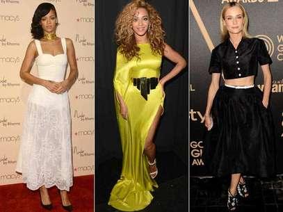 Foram eleitas 12 famosas, entre atrizes e cantoras. A única personalidade fora do showbiz foi a duquesa de Cambridge Foto: Getty Images