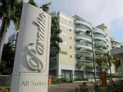 Apartamentos similares ao da tragédia de sábado foram interditados no apart hotel da Tijuca Foto: Mauro Pimentel / Terra