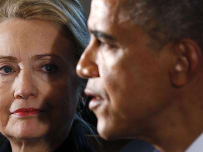 Em entrevista, Obama agradeceu o papel da secretária de Estado em seu primeiro governo Foto: Reuters