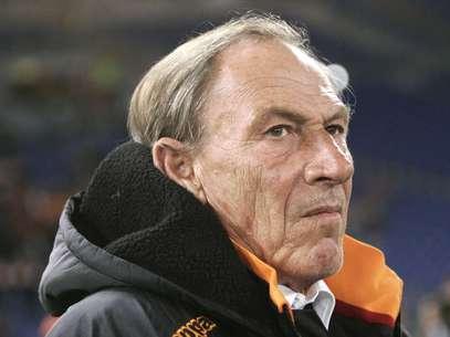 Zeman, 65 anos, já havia comandado a Roma entre 1997 e 1999 Foto: AP