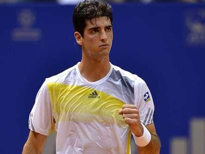 Bellucci teve que suar para vencer estreia no Brasil Open Foto: Fernando Borges / Terra