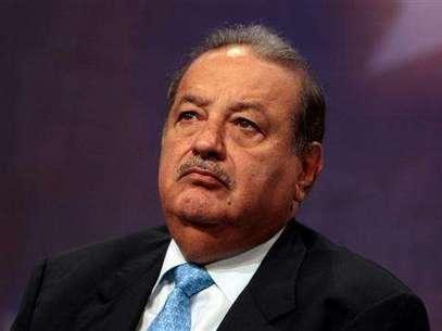 O mexicano Carlos Slim continua na liderança como mais rico do mundo Foto: AFP