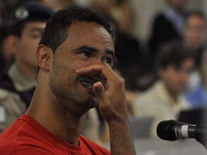 Goleiro Bruno permanece preso em Minas Gerais Foto: Renata Caldeira/TJ-MG / Divulgação
