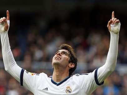 Kaká foi titular no Espanhol, mas ficará de fora de jogo decisivo da Liga dos Campeões Foto: Reuters