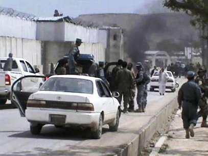 Pelo menos cinco norte-americanos que estavam em um comboio de veículos na província de Zabul morreram Foto: AP