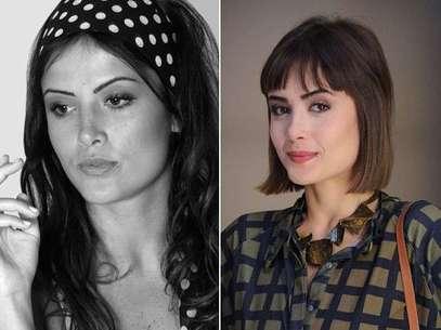 O antes e depois de Maria Casadevall Foto: TV Globo / Divulgação
