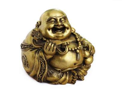 O Buda dourado simboliza riqueza e prosperidade Foto: Getty Images