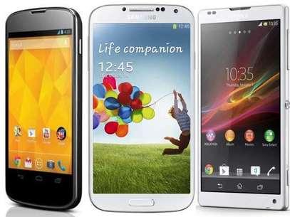 Nova geração de smartphones Android é poderosa, eficiente e torna a vida do consumidor mais completa. Mas qual deles escolher? Foto: ZTOP