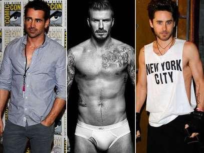 Site reúne frases e fotos que apontam para os homens mais 'bem dotados' de Hollywood Foto: Getty Images