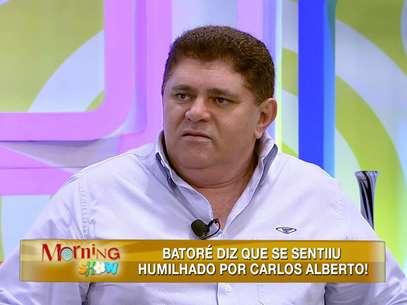 Batoré diz se sentir humilhado Foto: Divulgação